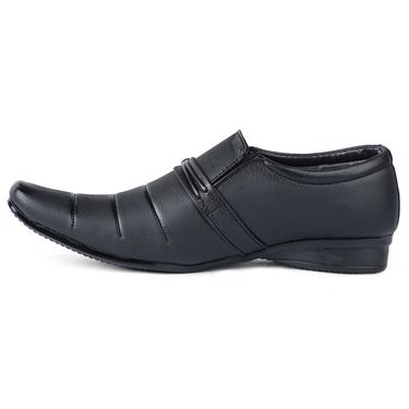 Foot N Style Black Formal Shoes _FS375