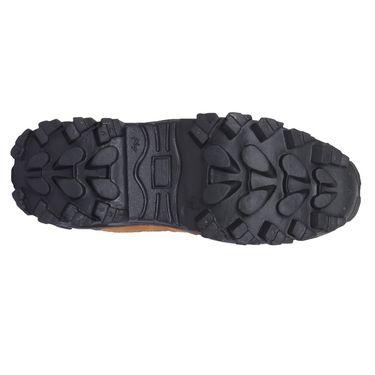 Foot n Style Mesh Tan Boots -Fs4024
