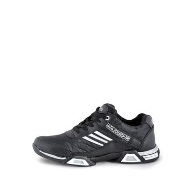 Foot n Style Synthetic Leather Sports Shoes FS 477 -Grey & White
