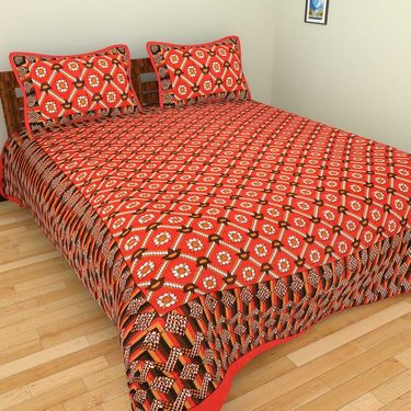 Set of 10 Double BedSheets With 20 Pillow Covers-grj-db-10-10