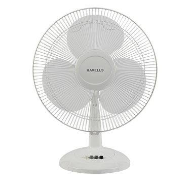 Havells Swing LX 400 mm Table Fan - White