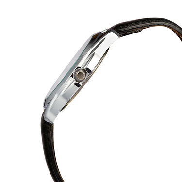 Mango People Analog Round Dial Watch For Men_mp012 - White