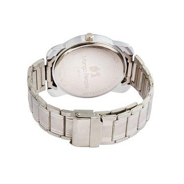 Mango People Analog Round Dial Watch For Men_mp016 - White