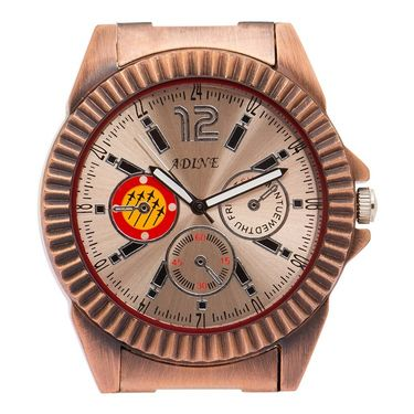 Adine Analog Wrist Watch For Men_Ad52008rg - Gold