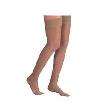 Silvasan AG Class 1 Compression Stockings- Stay Up, Open Toe-Small
