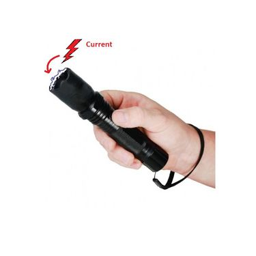 LED Flash Light with Tazer  for Woman Safety