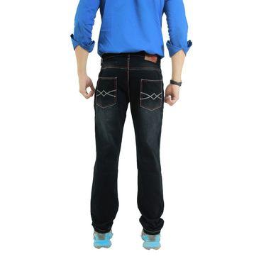 Uber Urban Cotton Jeans_ub04 - Black