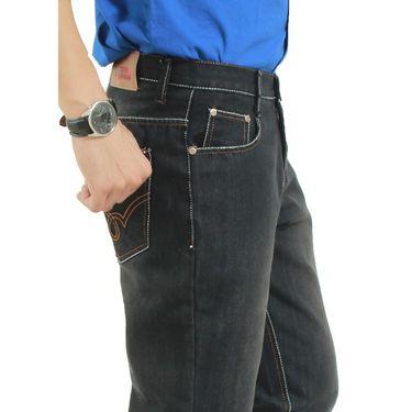 Uber Urban Cotton Jeans_ub08 - Black