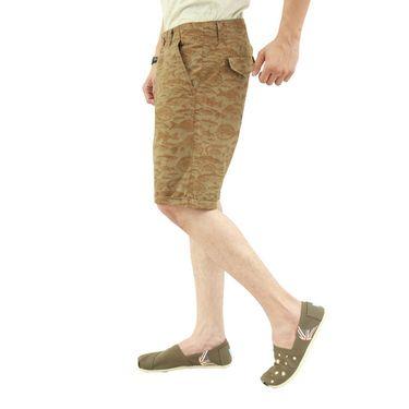 Uber Urban Cotton Shorts_ub10 - Beige