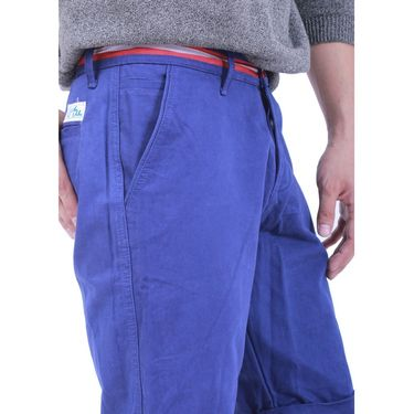 Uber Urban Cotton Shorts_ub16 - Dark Blue