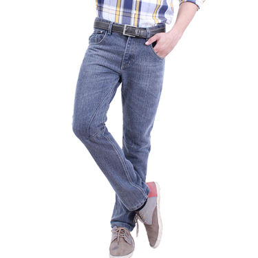 Uber Urban Cotton Jeans_ub17 - Grey