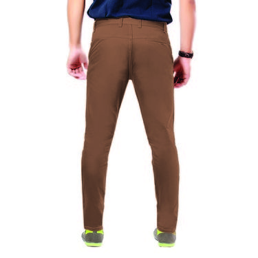 Uber Urban Cotton Trouser_ub28 - Dark Brown