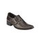 Delize Printed Leather Formal 3152B-Brown