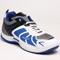Columbus PU Sports Shoes - White & Blue-1931