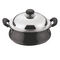 Vinod Cookware Black Pearl  Hard anodised Handi Juniour with Lid   HAHWL-JR