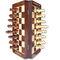 Liana Premium Magnetic 12 Inch Rectangle Chess Board - Brown