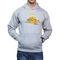 Effit Printed Regular Fit Full Sleeves Cotton Hoddies for Men - Grey_PTLHODY0057