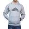 Effit Printed Regular Fit Full Sleeves Cotton Hoddies for Men - Grey_PTLHODY0061