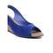 Ten Suade Leather 290 Women's Heel Sandals - Blue