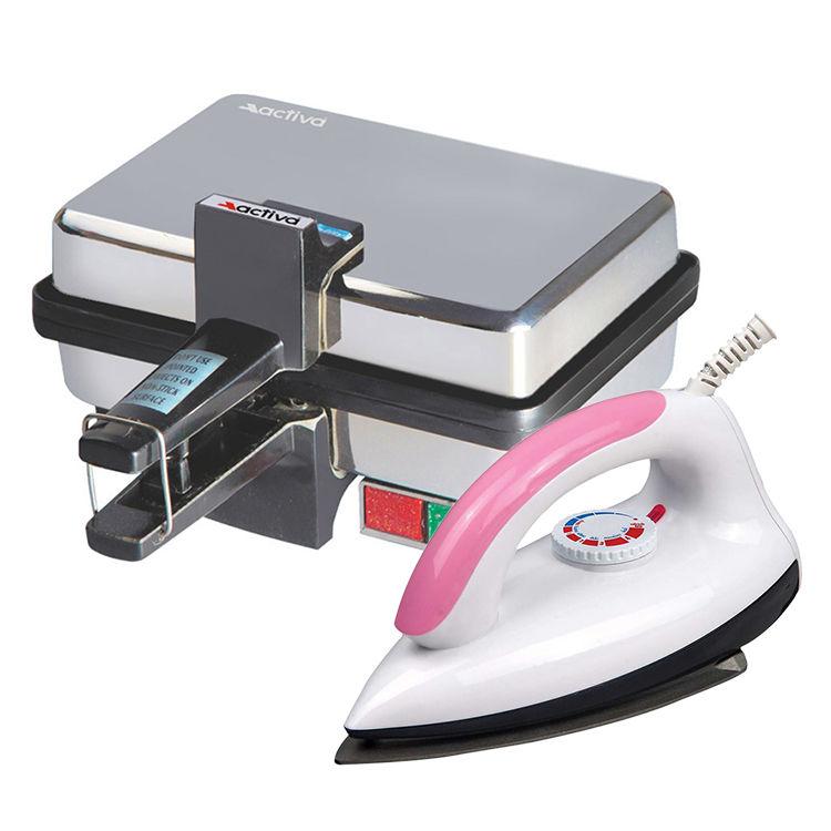 Electric Sandwich Maker ~ Buy combo of sandwich maker light weight electric iron