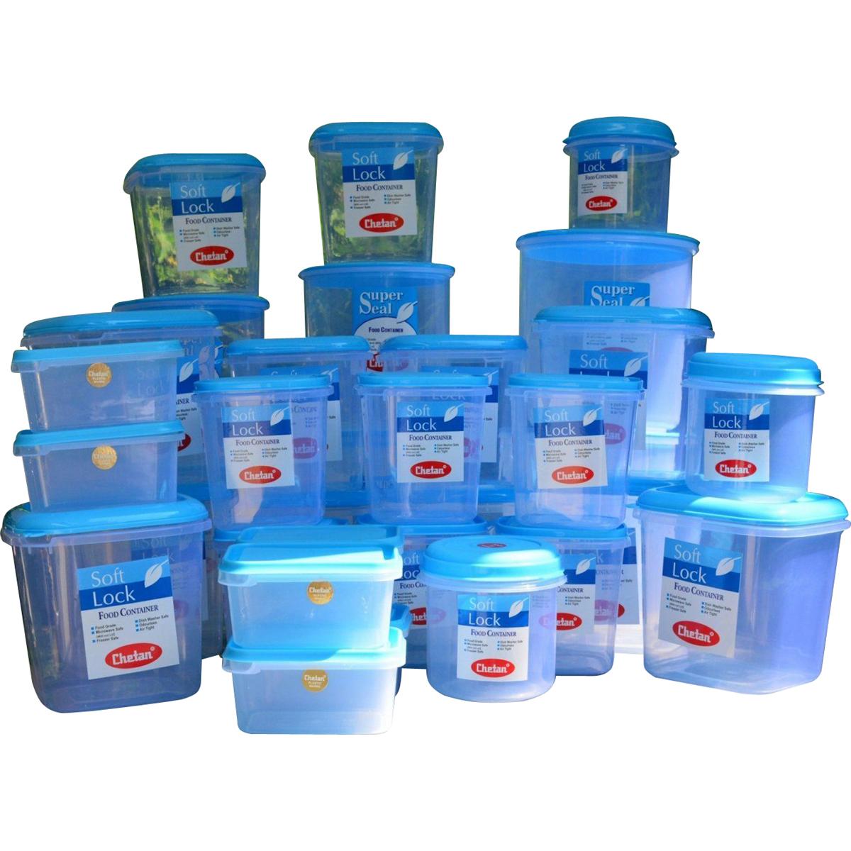 buy chetan 33pcs jumbo kitchen storage container set