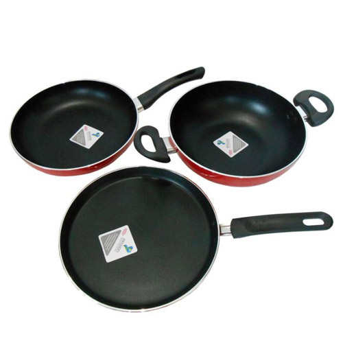 Kaiserhoff induction cookware set turquoise