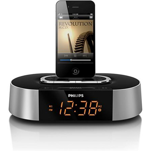 buy philips aj7030d 12 alarm clock radio dock for ipod. Black Bedroom Furniture Sets. Home Design Ideas