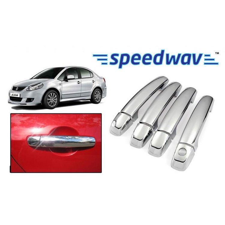 Maruti Suzuki SX4 Chrome Plated Car Door Handle Covers Set Of 4 Price Buy M