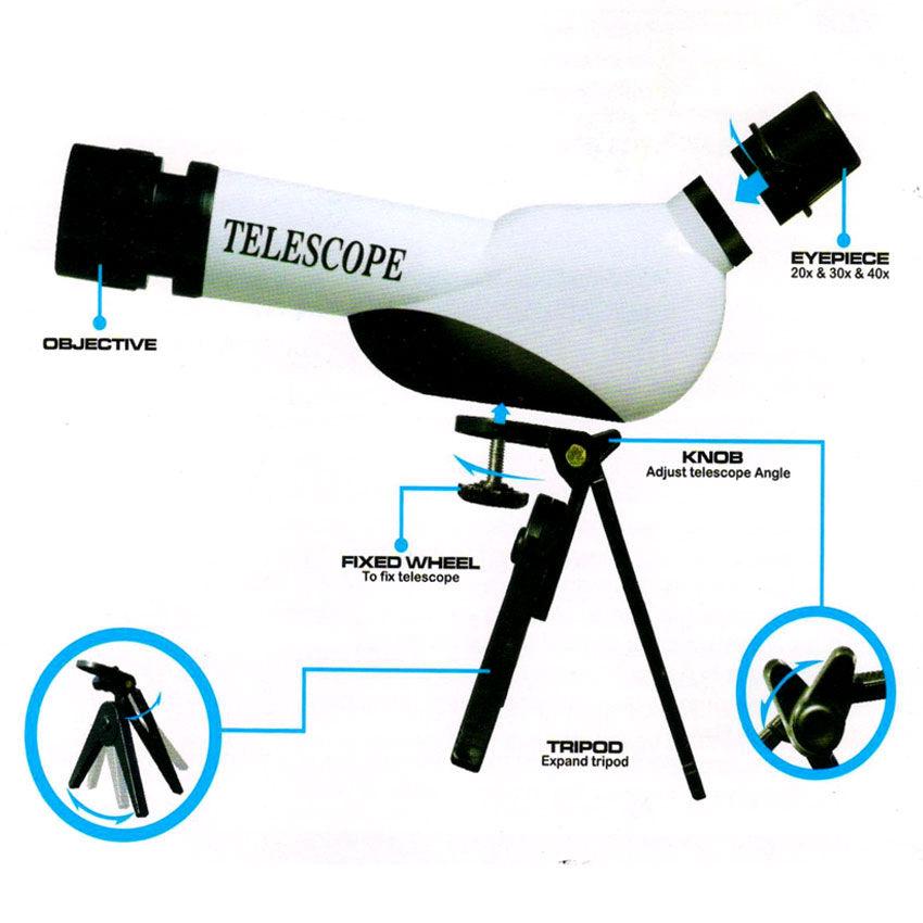 Buy Kids Educational Telescope DIY Kit Online at Best ...