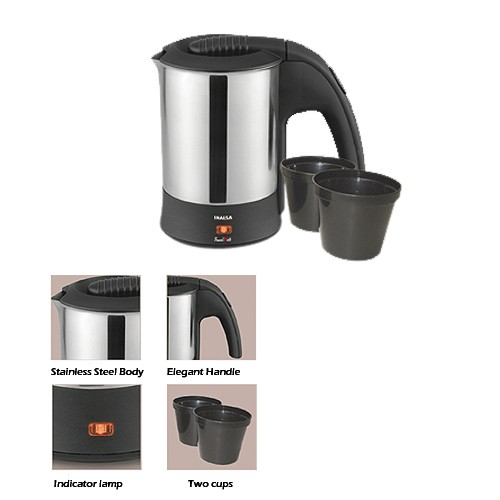 Inalsa Coffee Maker How To Use : Buy Inalsa Travel Mate 0.5L Electric Kettle Online at Best ...