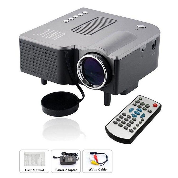 Buy unic uc28 mini led cinema projector online at best for Mini projector price