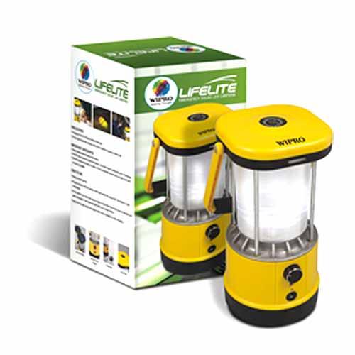 Buy Wipro Lifelite Emergency Solar Led Lantern Online At
