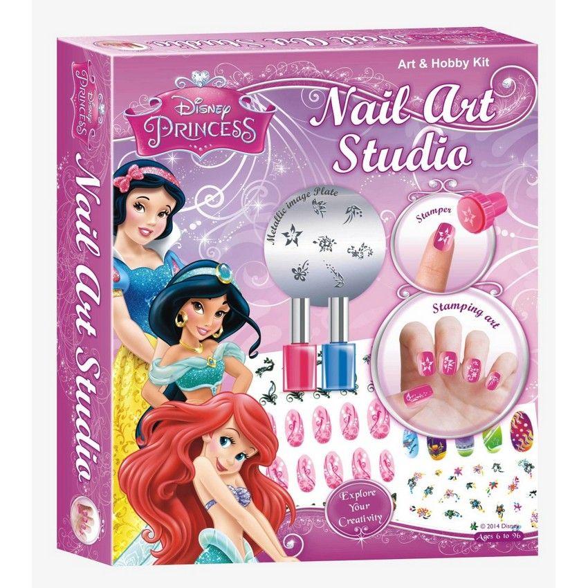 Disney Princess Nail Art: Buy Disney Princess Nail Art Studio Online At Best Price