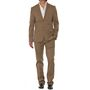Vimal Suit Length (Coat + Trouser) For Men - Beige