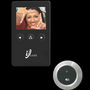 Isafe 2.8 Inch Electronic Cat-eye and Visual Doorbell Smart Peephole - Black