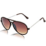 Aoito Aviator Sunglasses - Brown