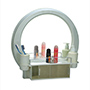 Cipla Plast Decor Designer Bathroom Mirror Cabinet - White