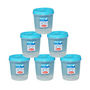 Chetan 6Pcs (2 Ltr) Twist Lock Kitchen Storage Container Set - Blue