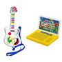Combo of Prasid Musical Guitar with 8 Sounds + Mini English Learning Laptop