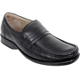 Delize Leather Formal Shoes - Black-2834