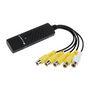 Gadget Hero Easycap Security Surveillance CCTV System (Usb 2.0:4 Channel Dvr:AV)
