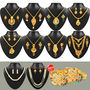 Fascinating 1 Gram Gold Plated Jewellery Collection - AKSO
