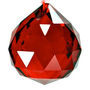 Fengshui Crystal Ball 40 mm - Red