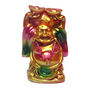 Fengshui Laughing Buddha with Boats For Success - Golden
