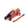 Hand Operated 2 Ton Car Hydraulic Trolley Jack (Compact) - Red
