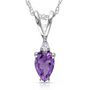 Kiara Sterling Silver Pendant made with Swarovski Zirconia - 225