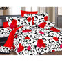 Valtellina Double Bed Sheet with 2 Pillow Cover-MO-330