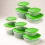 Cutting Edge Refrigerator Containers Set of 10 pcs + 10 Freshness Trays