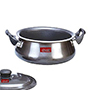 OK Non-Stick Handi with Lid-H1 - Black
