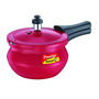 Prestige Deluxe Plus Aluminium Pressure Handi- Baby (Induction Based) - Red